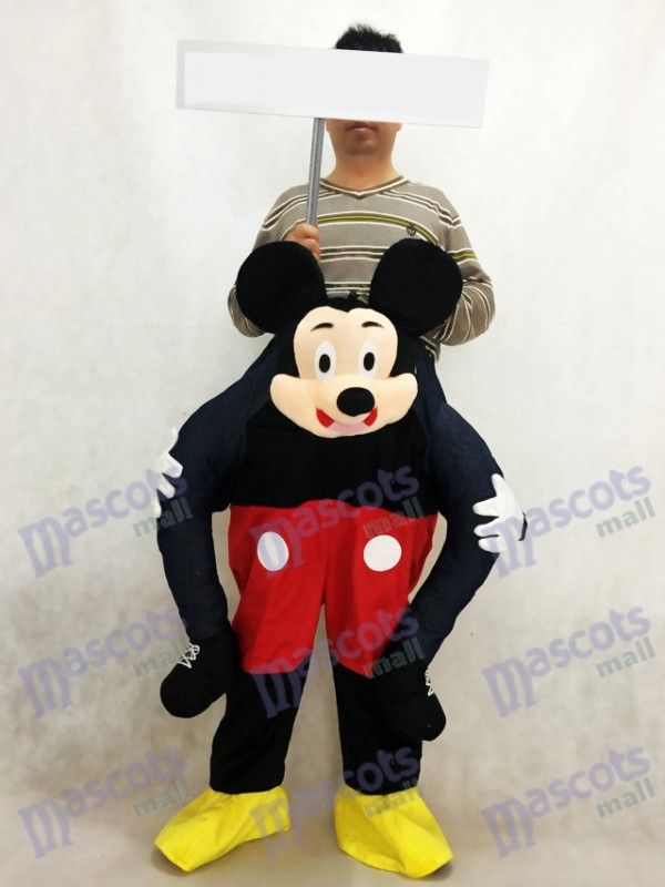 Mickey Mouse Carry Me Ride Piggyback Souris Mascotte Costume