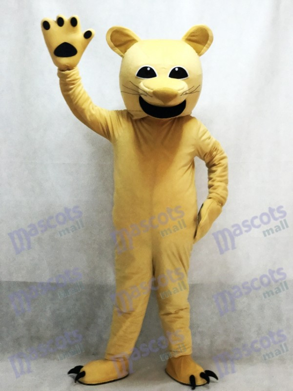Costume de mascotte Tan Cougar Animal