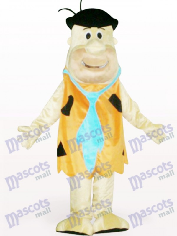 Costume de mascotte adulte marron