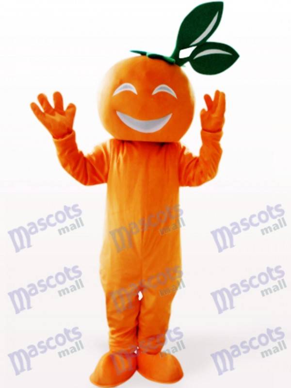 Déguisement Souriant Navel Orange Mascotte de Fruits